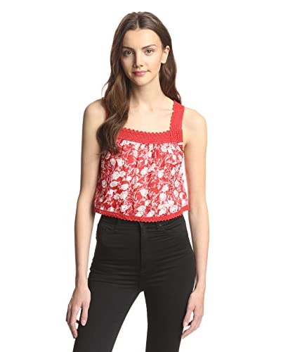 Raga Women's Crochet Crop Top