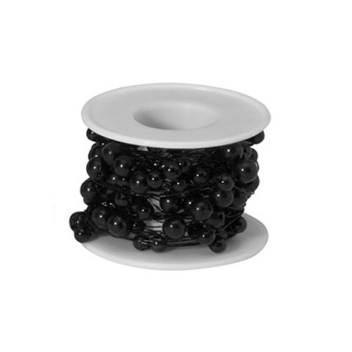 26 ft. Beaded Wire-black (Oasis Beaded Wire compare prices)