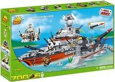 Small Army, Battlecruiser by COBI, 700 Pcs and 6 figures