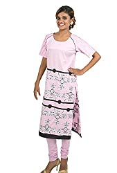 Kandida Madhubani style Pin tucks Sleeves cotton Kurta