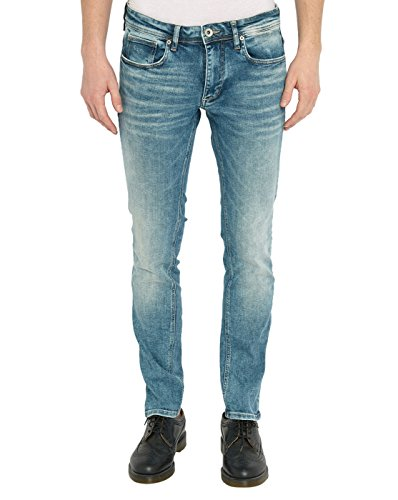 SELECTED - - Uomo - Jean Slim Bleu Clair Denim Two Poul pour homme -