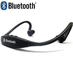 Micomy Bluetooth Sports MP3 Music Player for Gym Running Jogging - Black