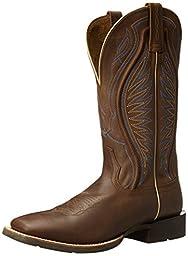Ariat Men\'s Rodeo Warrior Western Cowboy Boot, Crazy Tan, 8 D US