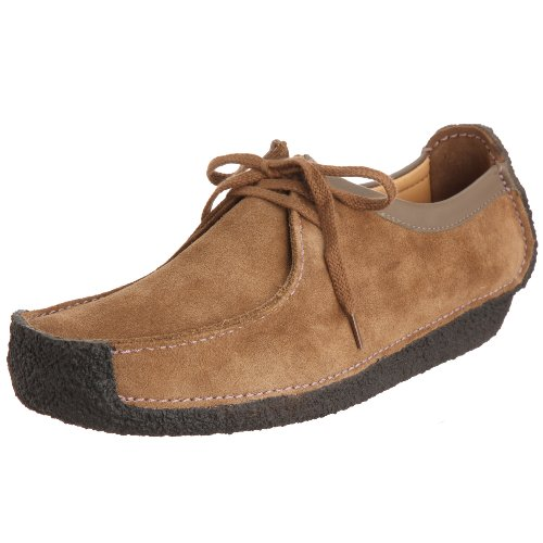 [クラークス] Clarks Natalie 00110798 Oakwood Suede(Oakwood Suede/UK8.5)