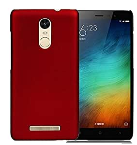 Unistuff 52950 Matte Finish Hard Case Back Cover for Redmi Note 3 [Slim fit][Free Shipping][Combo Offer],(Red, Sky Blue)