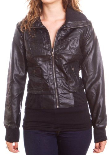 womens-leather-moto-jacket-small-black-w-snap-pockets