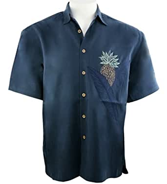 Bamboo cay pineapple connection men 39 s tropical style for Bamboo button down shirts