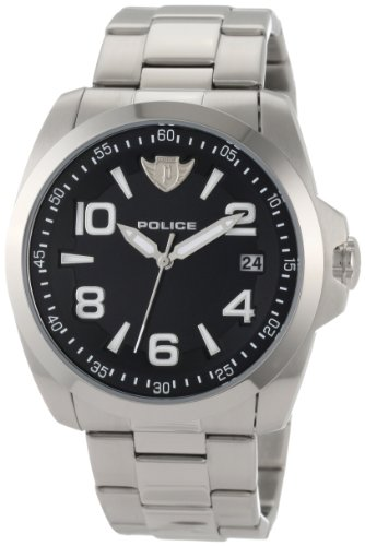 Police Men's Sovereign Watch 12157JS/02MC with Black Dial