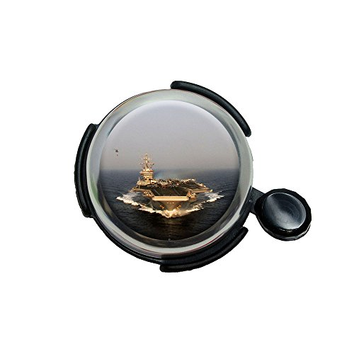 United States Navy Aircraft Carrier Uss Dwight D. Eisenhower Bicycle Handlebar Bike Bell