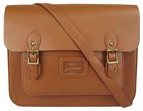 UKFS Vintage Ex-LARGE Unisex Faux Leather 15''