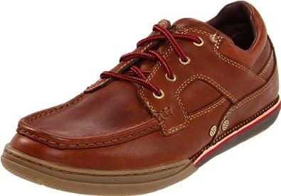 Rockport Men's Morgan Coast Boat Shoe, Caramel, 6.5 M US