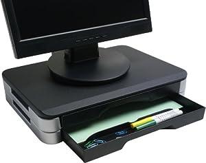 Exponent 50711 supporto da tavolo per tv a schermo piatto cancelleria e prodotti per - Supporto tv da tavolo ikea ...