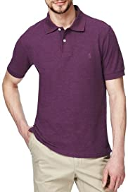 Blue Harbour Cotton Rich Fairtrade Plain Polo Shirt [T28-5541B-S]