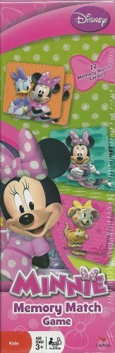 Disney Minnie Mouse Memory Match Game