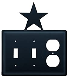 ESSO-45 Star Double Switch and Single Outlet Cover