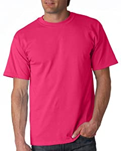 Gildan Adult Ultra Cotton T-Shirt, Heliconia, X-Large. 2000