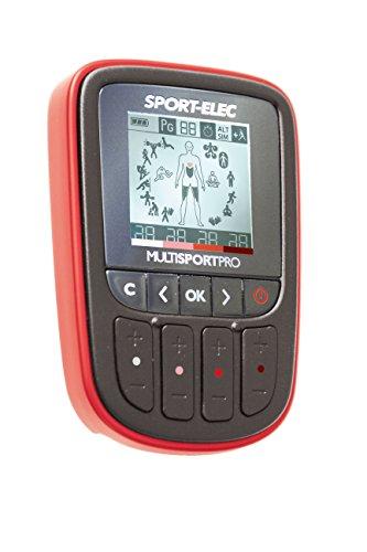 sport elec multisport pro electrostimulateur avec ceinture abdominale mixte adulte rouge tout. Black Bedroom Furniture Sets. Home Design Ideas