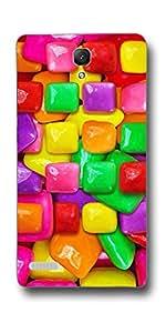 SEI HEI KI Designer Back Cover For Xiaomi Redmi Note::Xiaomi Redmi Note 4G - Multicolor