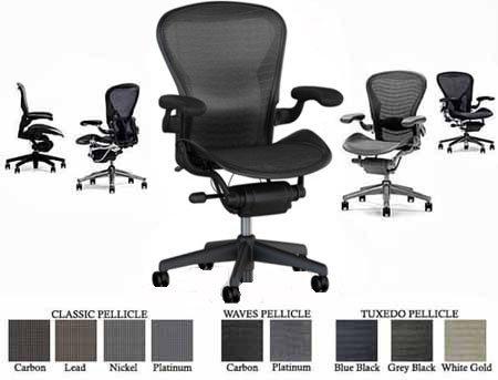 Aeron Chair Sizes 7899