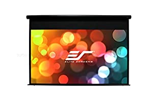 Elite Screens Yard Master Electric Series, 100-inch 16:9, Electric Motorized Outdoor Movie Projector Screen, OMS100H - Electric