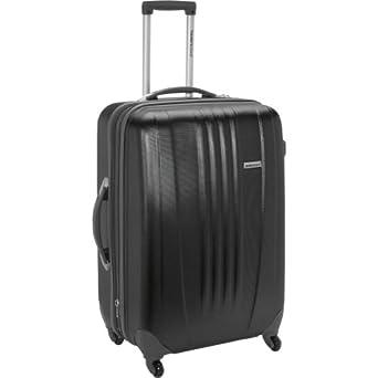 Traveler's Choice Toronto 25 in. Expandable Hardside Spinner Luggage (Black)