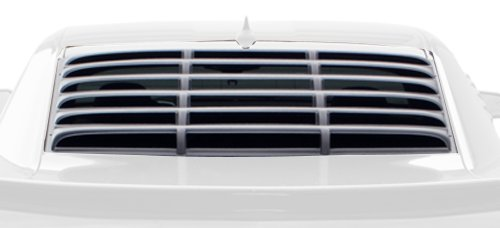 Willpak Industries 1573 ABS Smooth Surface Car Louver for Chevrolet Camaro (2012 Camaro Louvers compare prices)