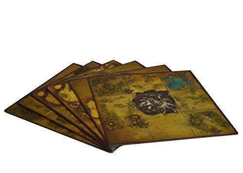 Golem Arcana Set 1 Map Tiles Board Game