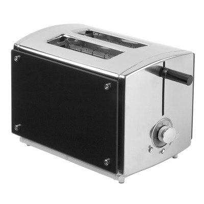 Kalorik TO 32763 Black Onyx 2 Slice Toaster