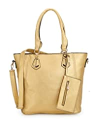 Basta Women's Hand-held Bag (Gold)