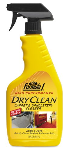 Formula 1 615150 Dry Clean Car Carpet and Upholstery Cleaner – 20 oz