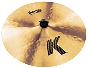 "Zildjian K 16"" Dark Crash Thin Cymbal"
