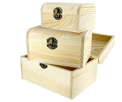 Natural-3-stck-Set-Schmuck-Ksten-Holz-Boxen-Schatulle