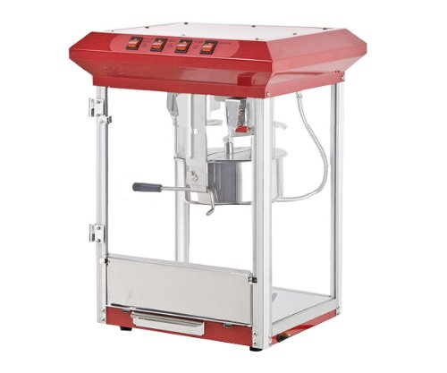 Goplus New 8oz Deluxe Popcorn Popper Maker Machine Red Table Top Tabletop Theater Style