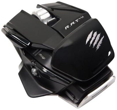 [Win8/Mac対応] R.A.T.M ワイヤレスマウス ブラック Bluetooth 4.0 GameSmart/Bluetooth Smart対応 電池寿命最大1年実現 コンパクト&パームアジャスト機能 (MC-RME-BK)