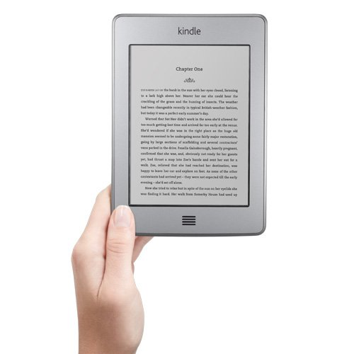 Kindle Touch 3G, Free 3G + Wi-Fi, 6 E Ink Touch Screen Display, 3G Works Globally