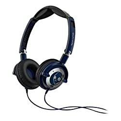 Skullcandy S5LWFY-131 Lowrider On-Ear Headphone with Mic (Navy/Chrome)