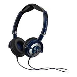 Skullcandy Lowrider On-Ear Headphones with Mic - Navy/Chrome