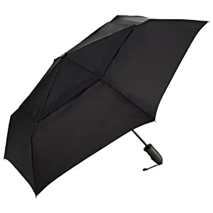 ShedRain Umbrellas Windjammer Vented Auto Open Auto Close Folding Umbrella