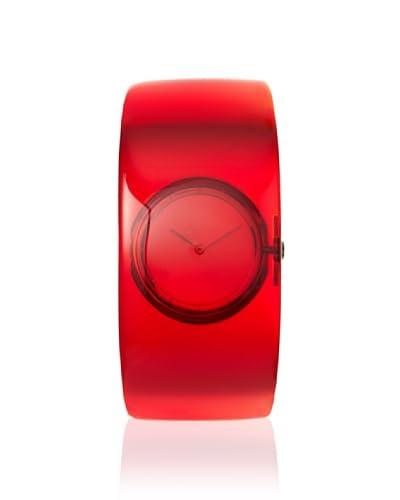 Issey Miyake Women's Yoshioka O Red Plastic Watch
