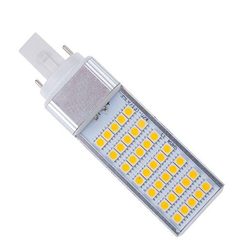 S6Store® 7W E27 Ac 85-265V 35 Leds G24 Smd 5050 180 Degree Cold White Led Warm Bulb Lamp Light For Home For Business Spotlight (3Pack)