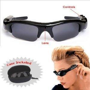 Sunglasses Spy Hidden Video Recorder DVR with 4gb MicroSD Card