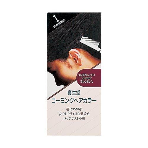 資生堂 コーミングヘアカラー 1 150ml
