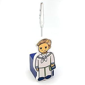 Detalles Infantiles - Pinza para tarjetas teo primera comunión - BebeHogar.com