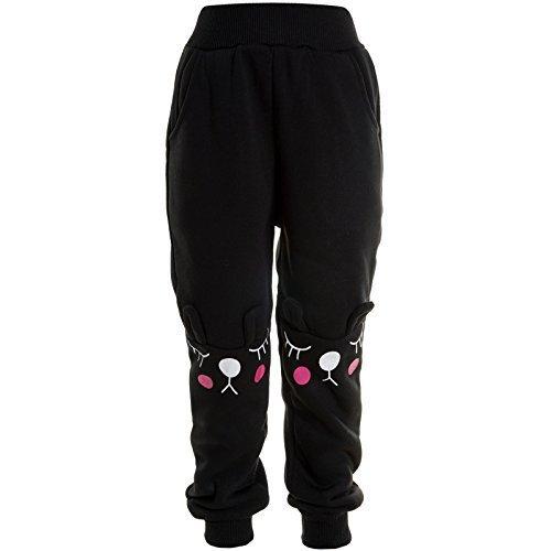 BEZLIT -  Pantaloni sportivi  - relaxed - ragazza nero 12 anni
