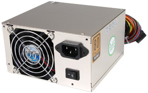StarTech.com Professional 530 Watt ATX12V 2.3 80 Plus Computer Power Supply with Active PFC