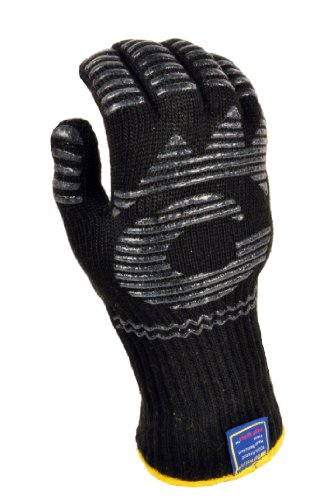 G & F 1682 Dupont Nomex Heat Resistant gloves for cooking, grilling, fireplace and oven, Barbecue Pit Mitt, BBQ Gloves, Sold by 1 Piece (Heat Cooking Gloves compare prices)