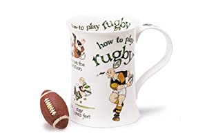 Dunoon How To Play Rugby Mug by Dunoon