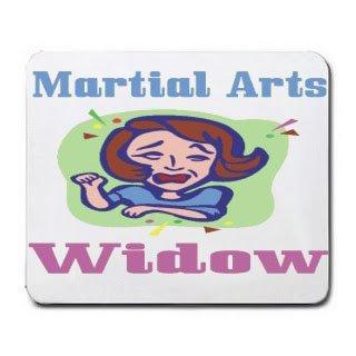Martial Arts Widow Mousepad