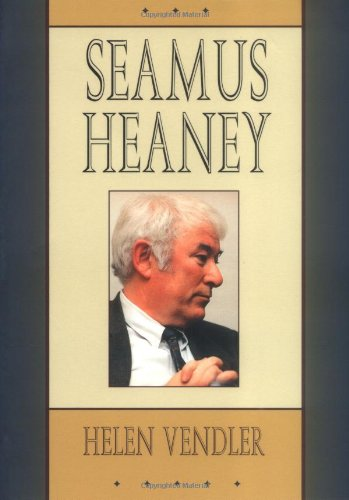 an introduction to the life and literature by seamus heaney Seamus heaney had the idea to make a personal selection of poems from across the entire arc of his writing life, a selection small yet comprehensive enough to serve as an introduction for all comers he never managed to do this himself, and no other edition exists which has such a broad range, drawing from first to last of his prize-winning.