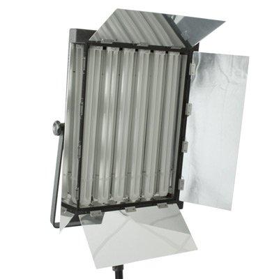Profi Tageslicht-Flächenleuchte NG-330AW mit 6 Leuchtstoffröhren – 330 Watt – mit Fernbedienung und Dimmer – inkl. Stoffdiffusor und Tragetasche